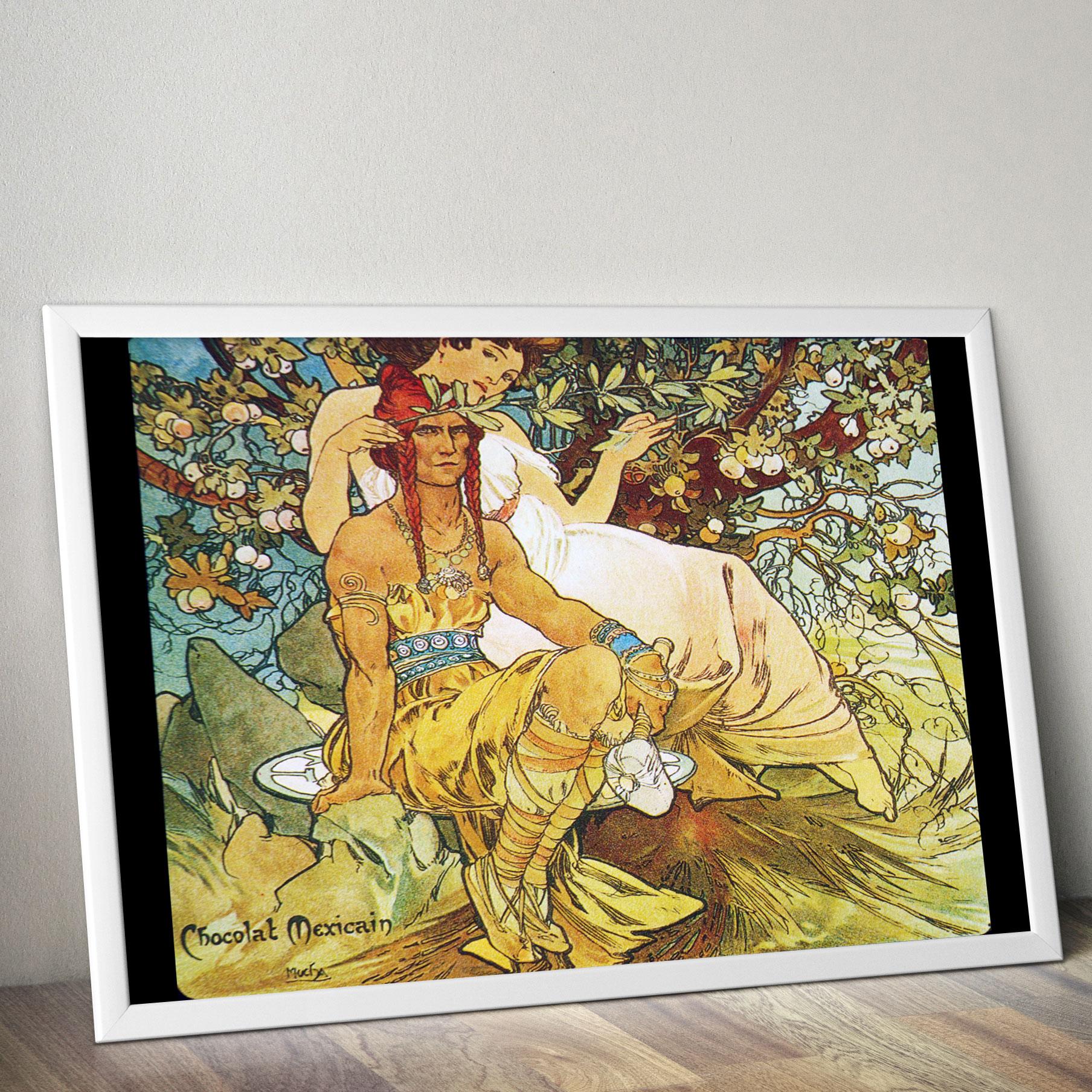 MUCHA Alphonse Art Nouveau Vintage Art Poster Print A4 Satin//Glossy Gift